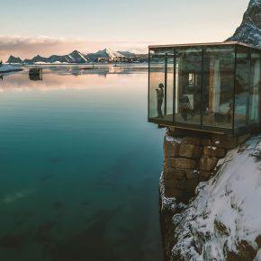 ile de manhaussen Norvège