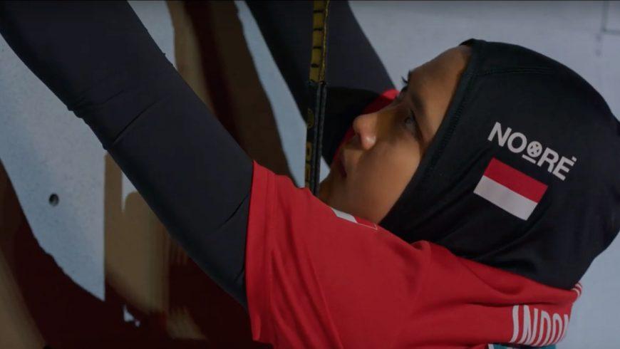 Aries Susanti Rahayu, 24 ans, bat le record du monde d'escalade de vitesse, première femme sous les 7 secondes et sa biopic