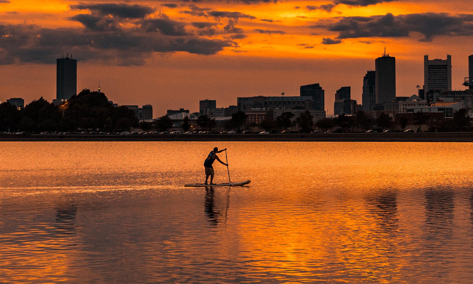 Paddle en ville
