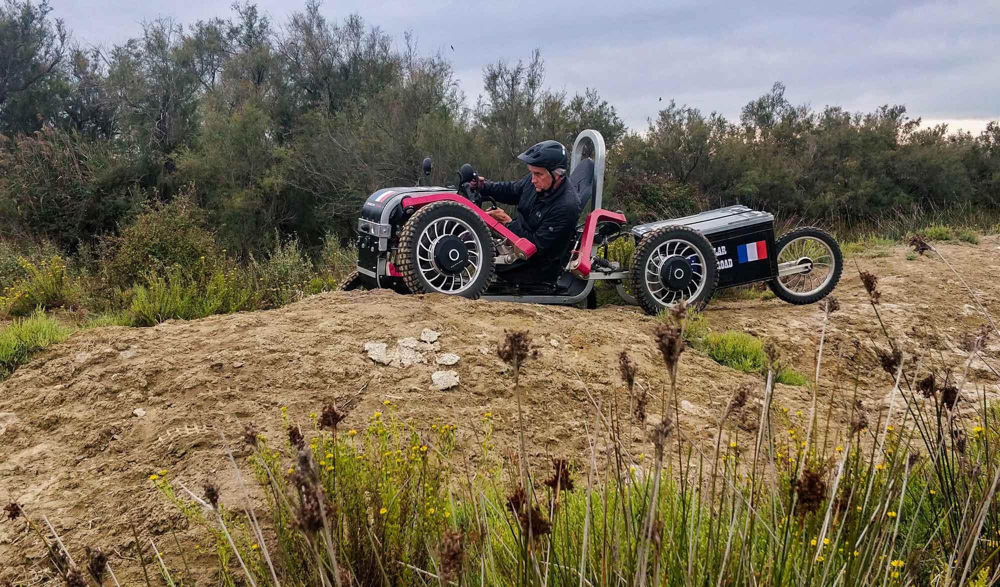 Swincar, une voiture 100% solaire