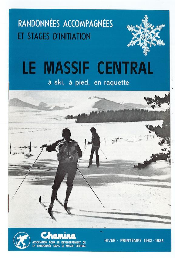 Brochure Chamina Voyages 1981 - 1983