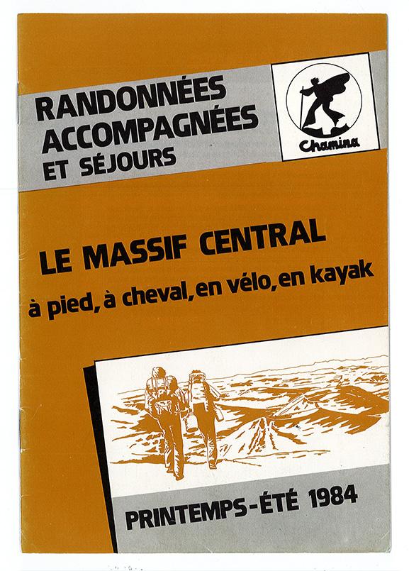 Brochure Chamina Voyages 1984