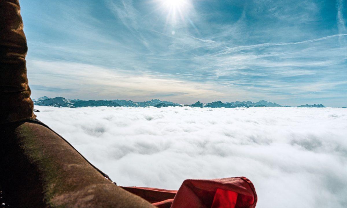 Suisse, montgolfières