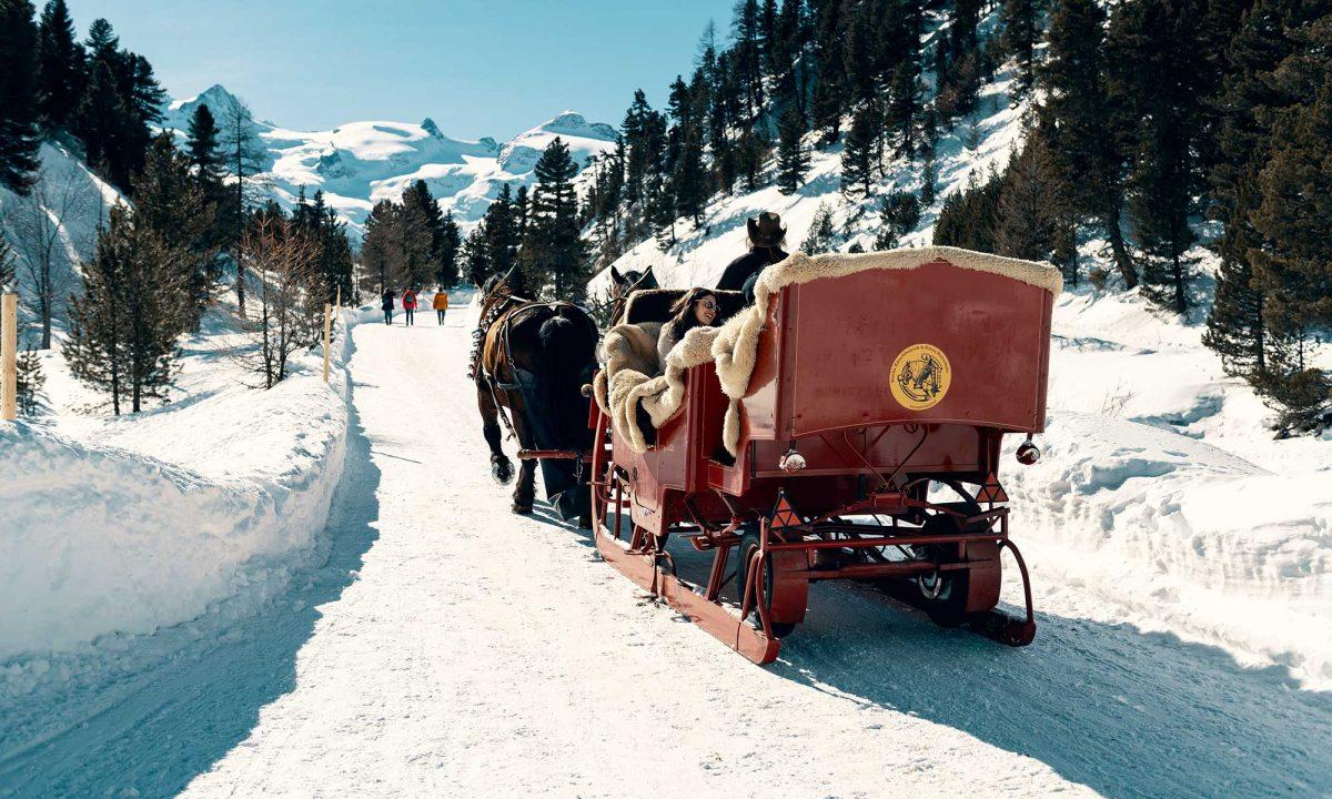 Suisse, calèche