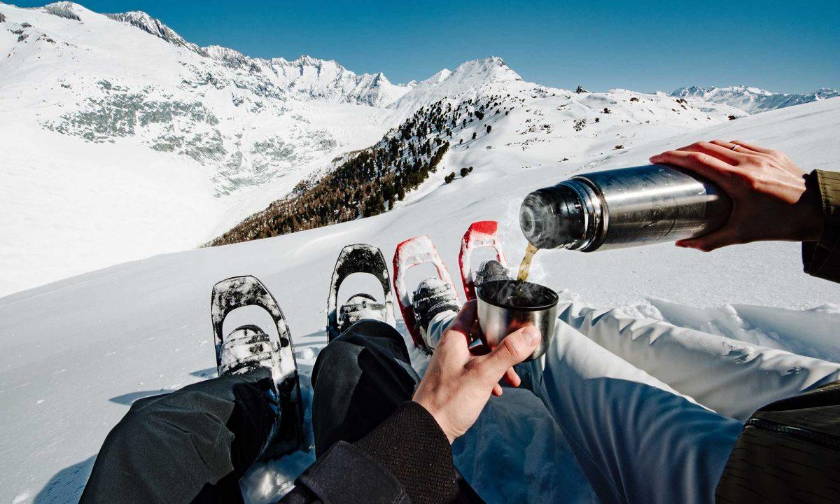 Suisse, raquettes à neige