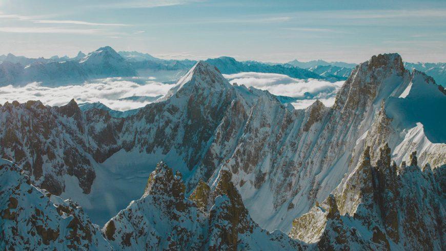 Le bassin d'argentière, massif du Mont Blanc