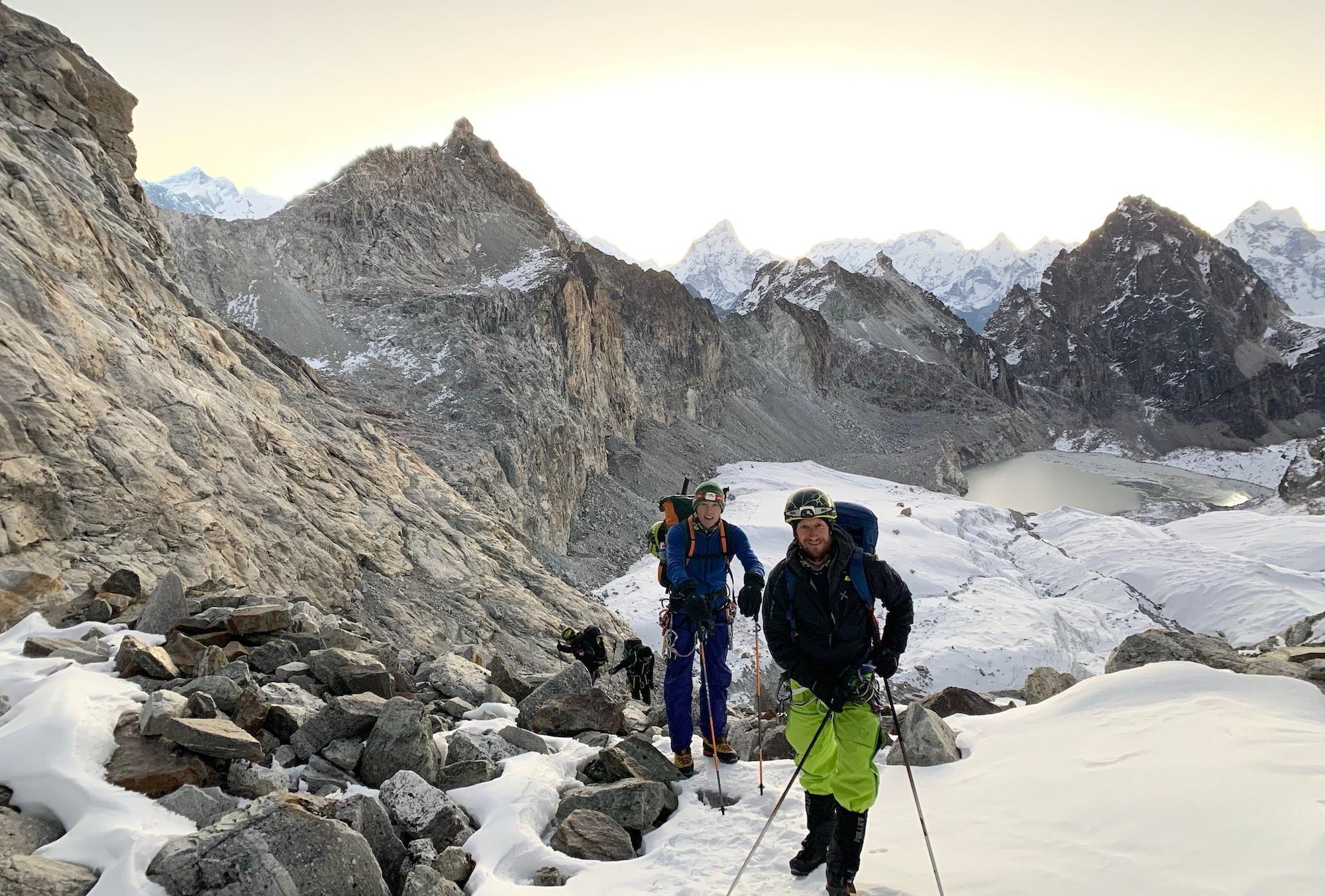 Expédition au Nepal novembre 2019 Pierre Le Clainche