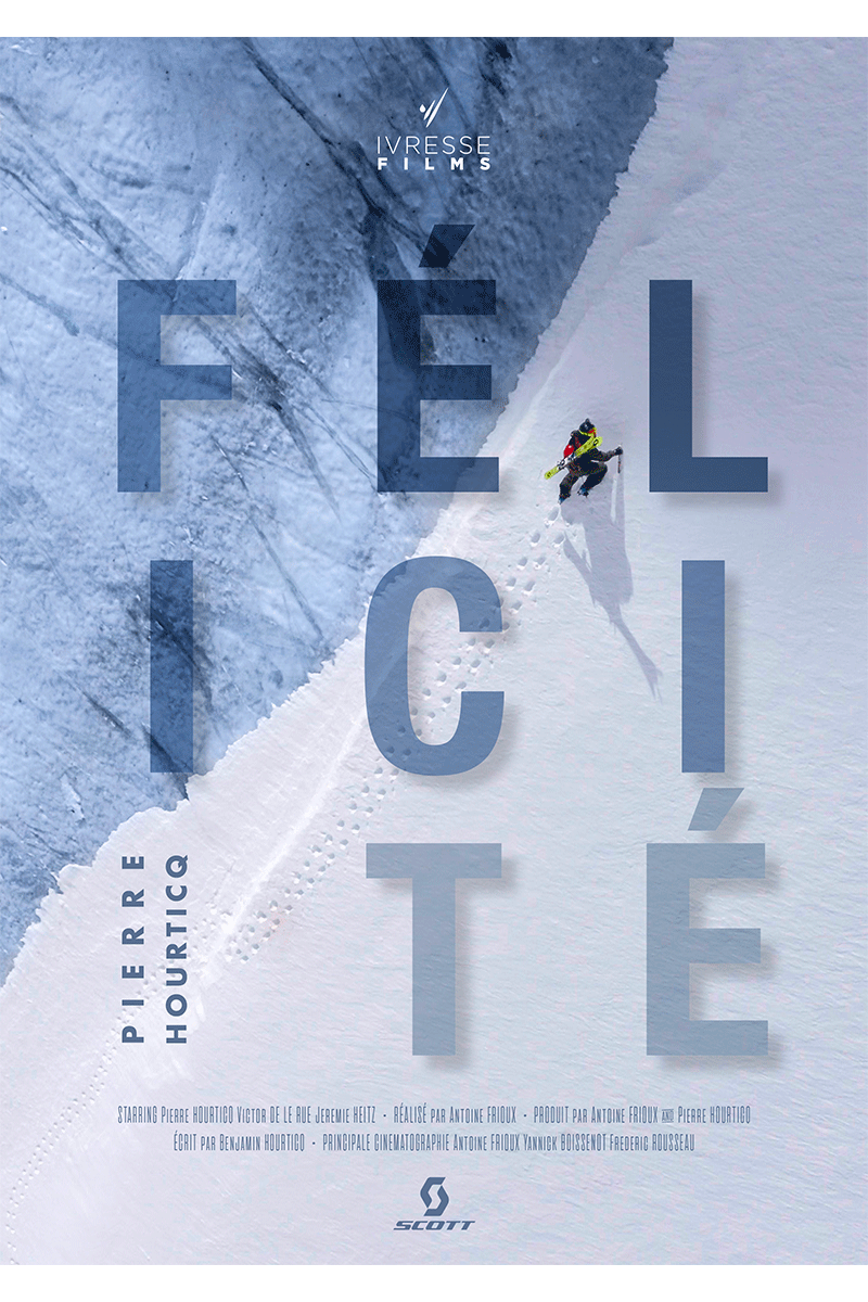 Affiche du film de ski de pente raide Félicité