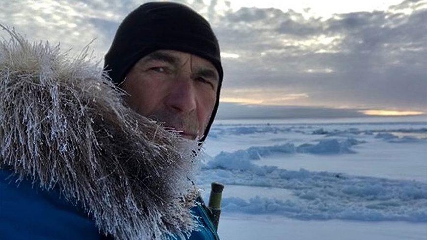 Mike Horn dans sa traversée de l'Antarctique