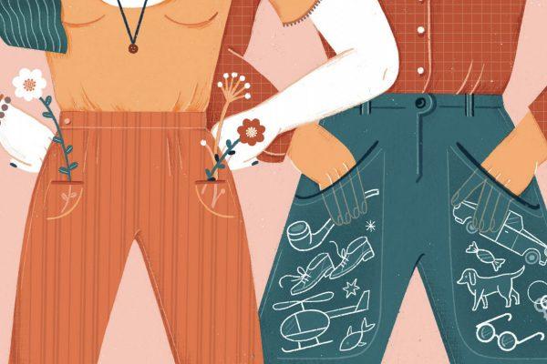 Manque d'espace dans les poches des femmes