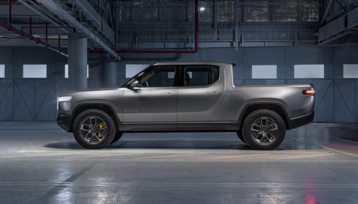 Nouveau pick-up électrique Rivian