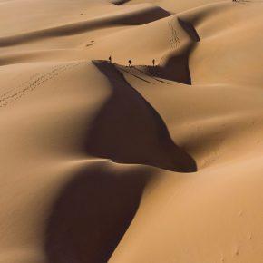 Trek dans le désert