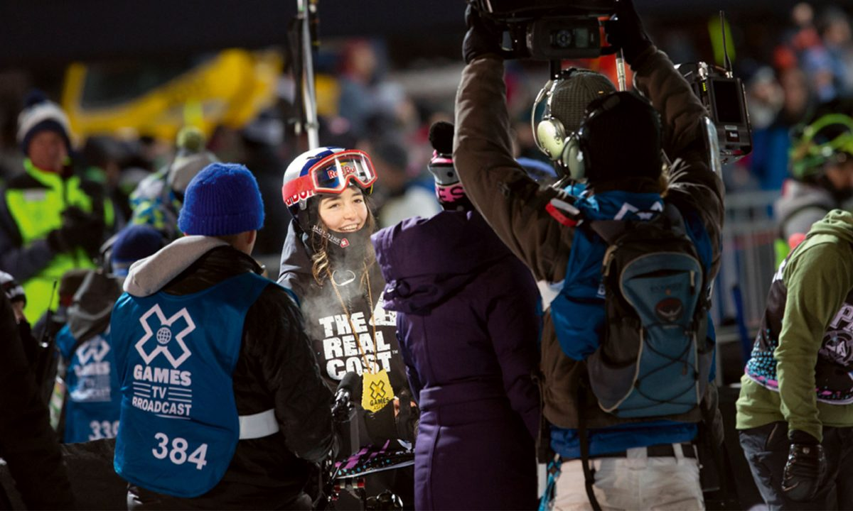Mathilde Gremaud aux Games d'Aspen