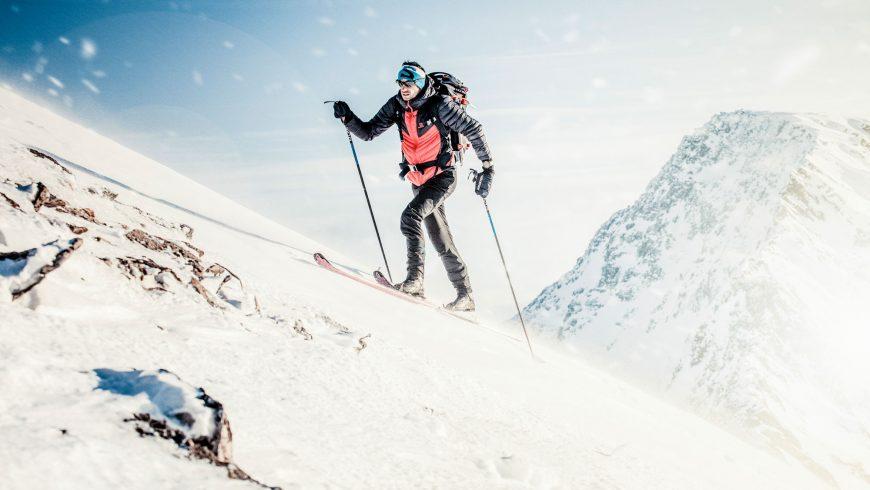 Kilian Jornet en ski de randonnée