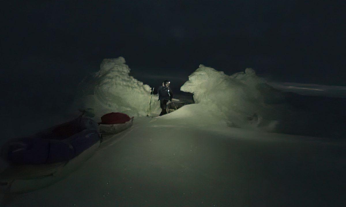 Expédition Pole 2 Pole dans la nuit polaire