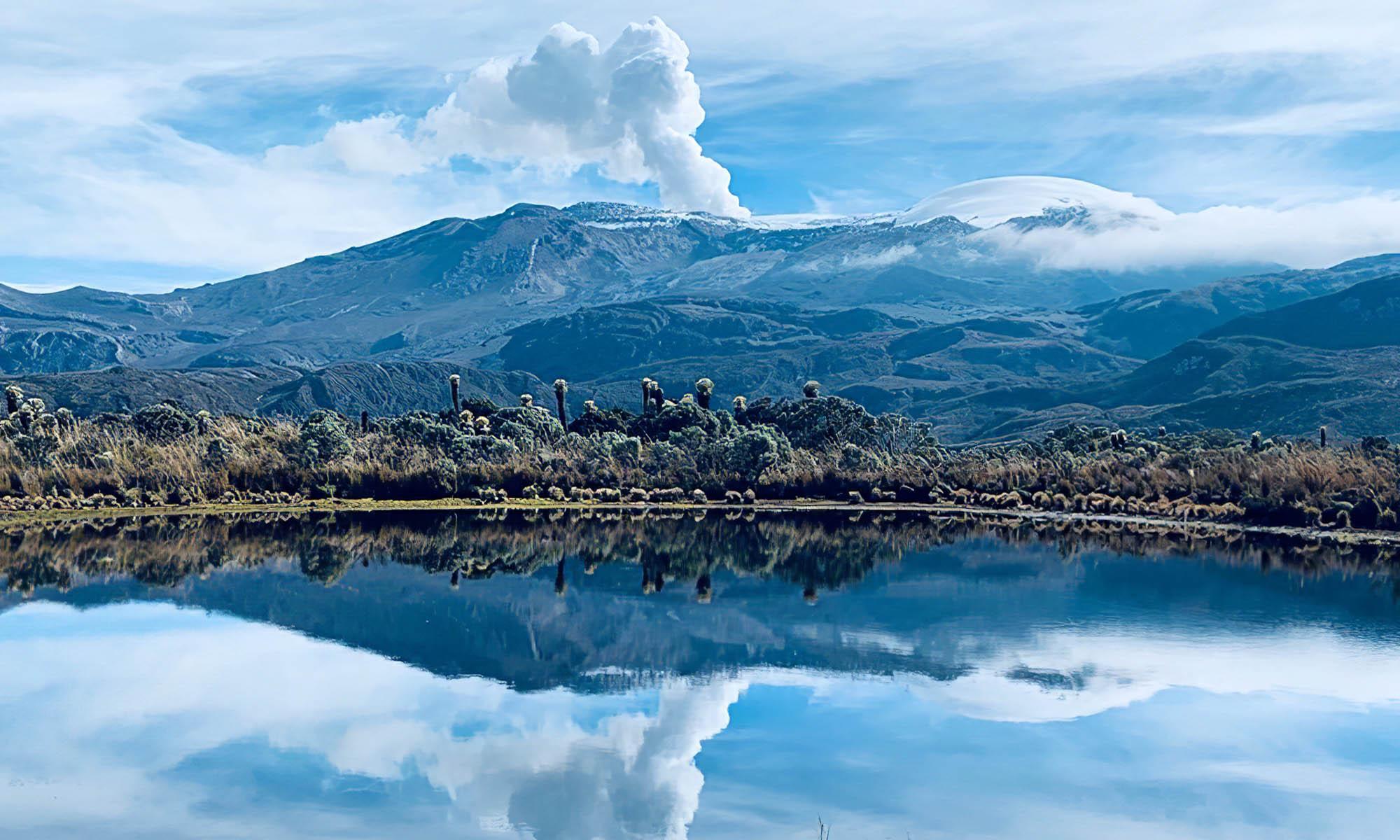 Volcan d'Amérique du Sud