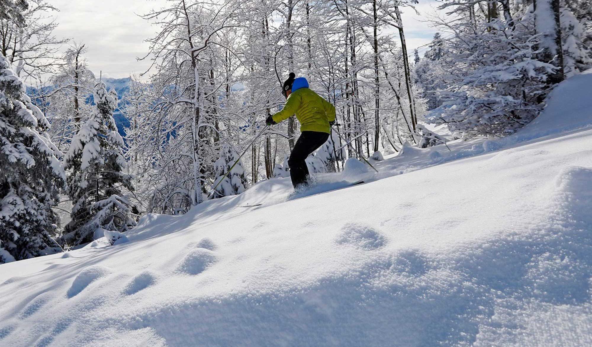 Ski à Autrans dans le Vercors