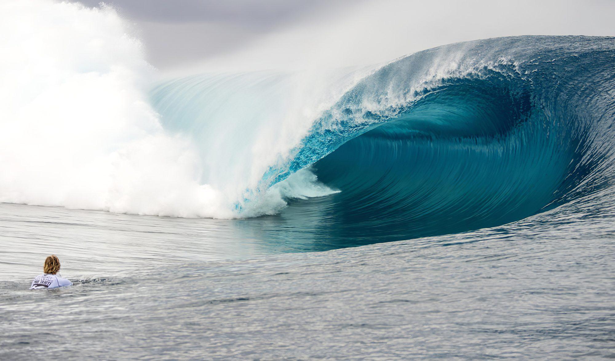 Teahupoo, vague mythique de Tahiti