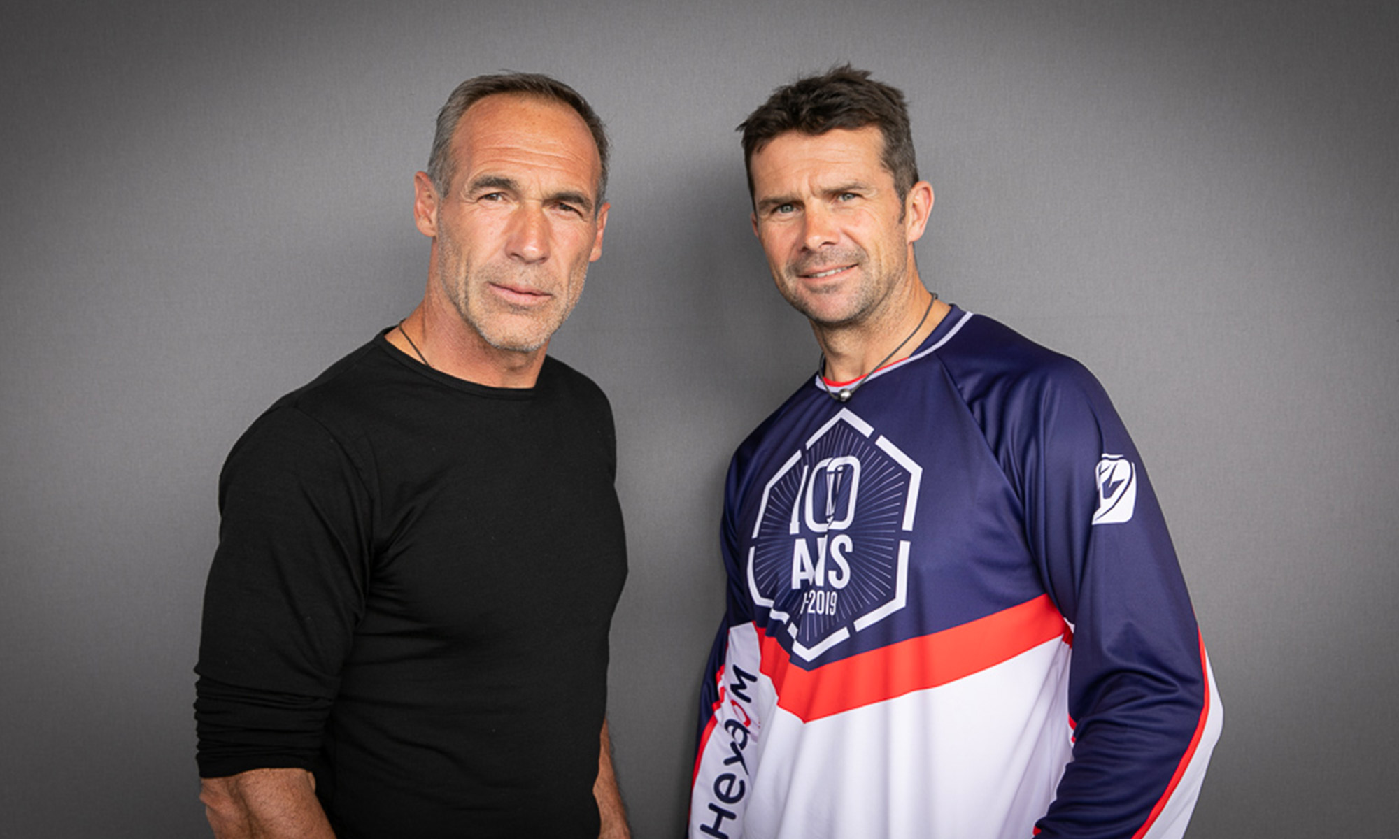 Mike Horn et Cyril Despres