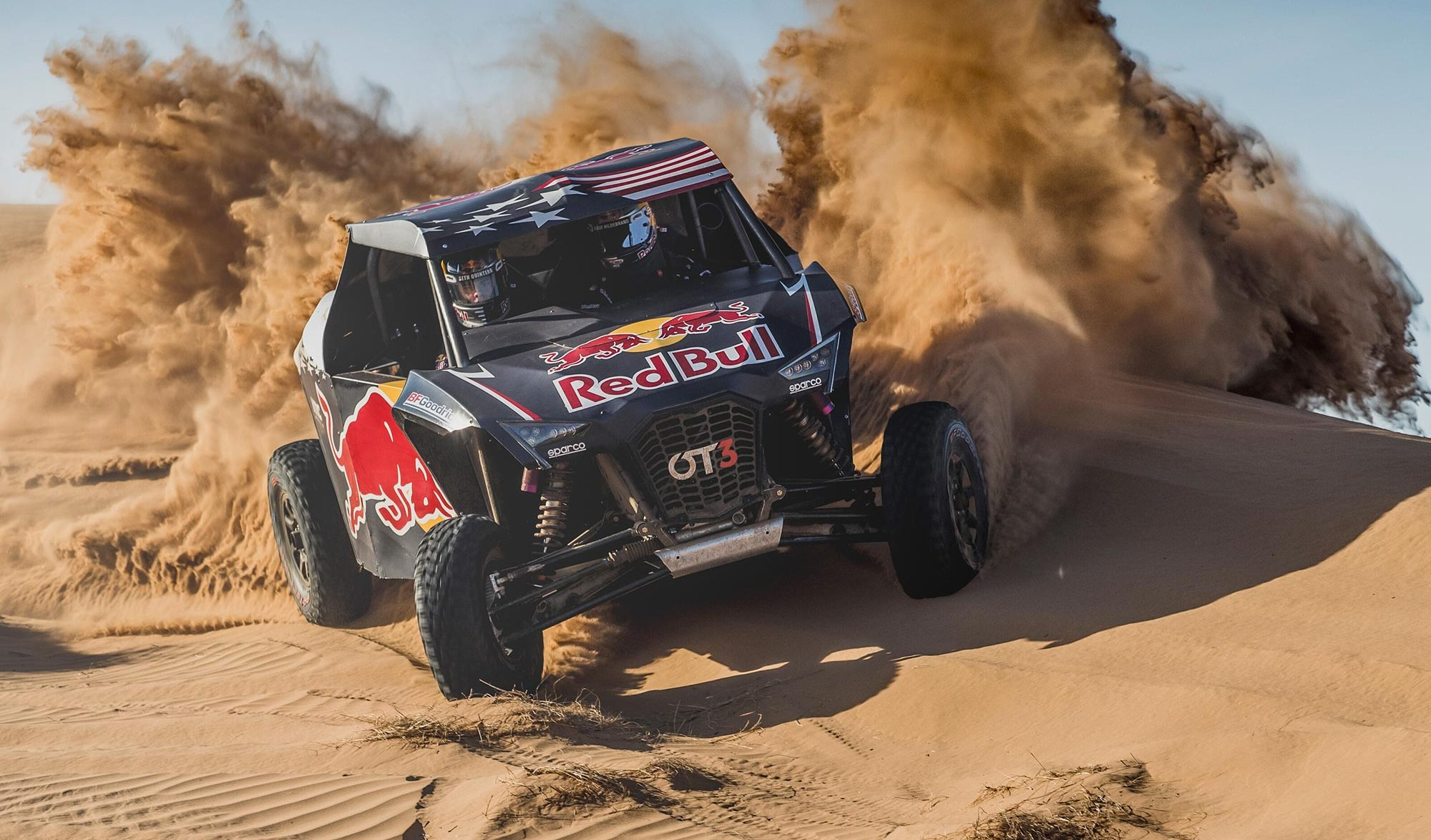 Buggy Red Bull de Cyril Despres