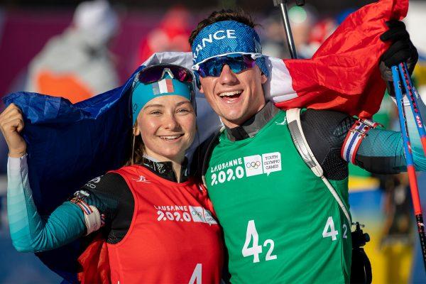 Mathieu Garcia et Jeanne Richard