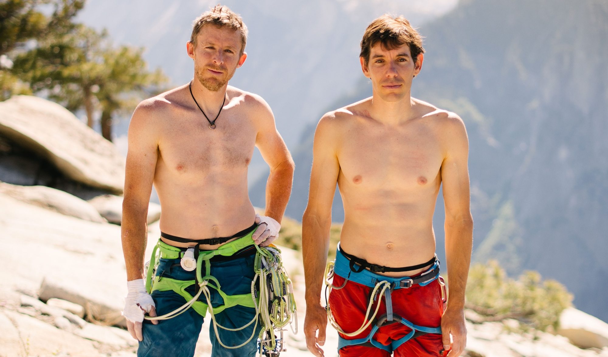 Alex Honnold et Tommy Caldwell Reel Rock Tour