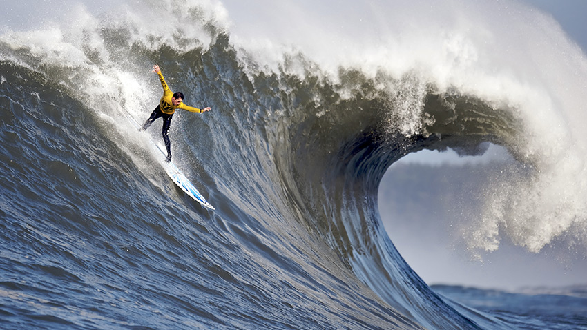 surfeur Mavericks