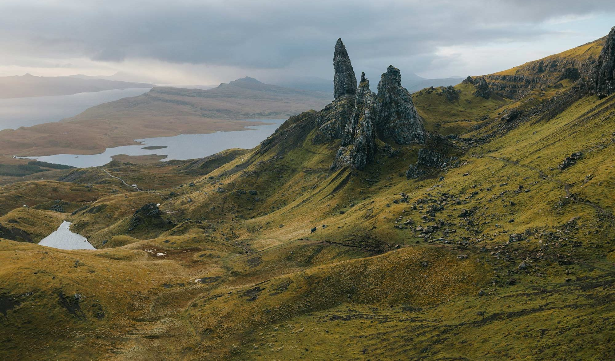 Old man of storr, UK