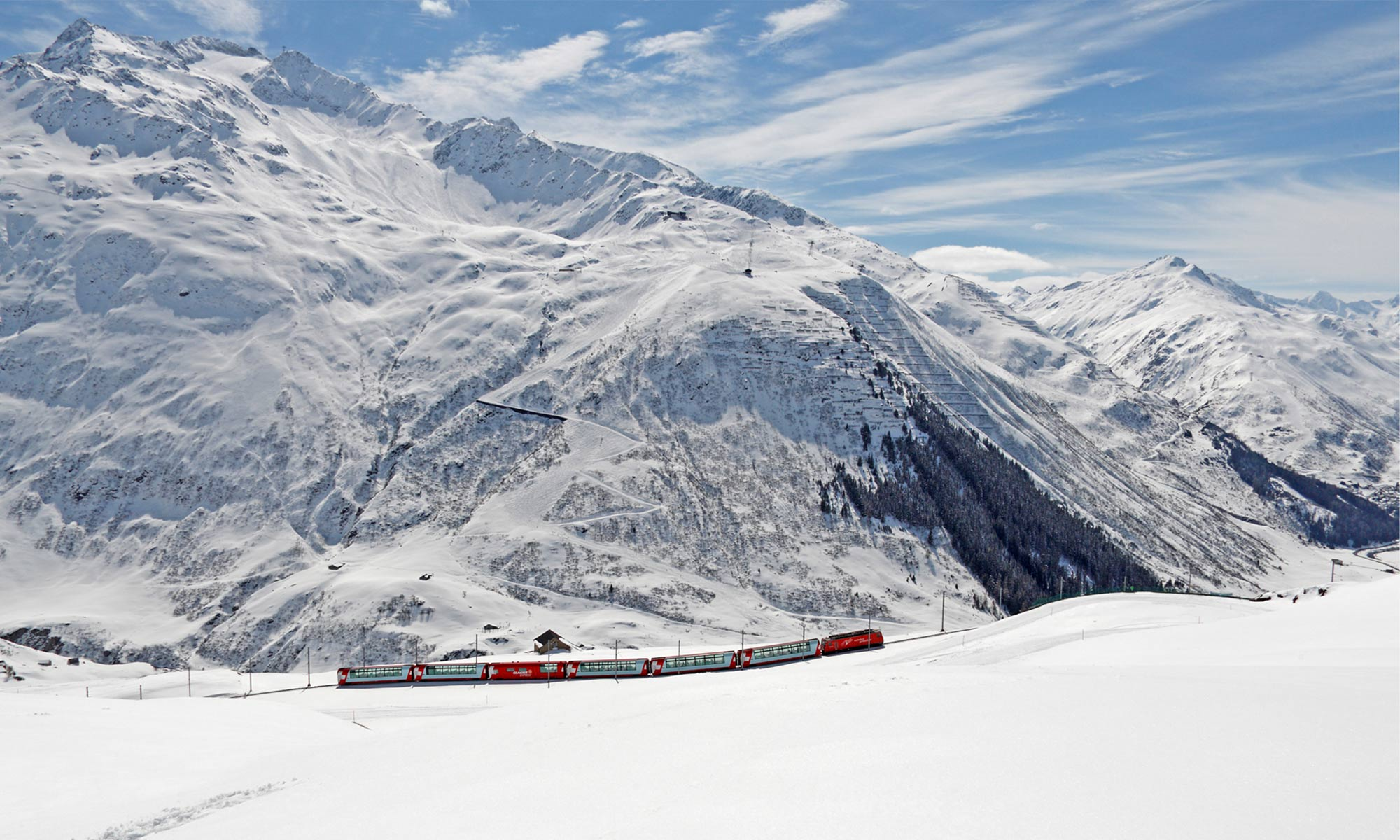 Train panoramique suisse
