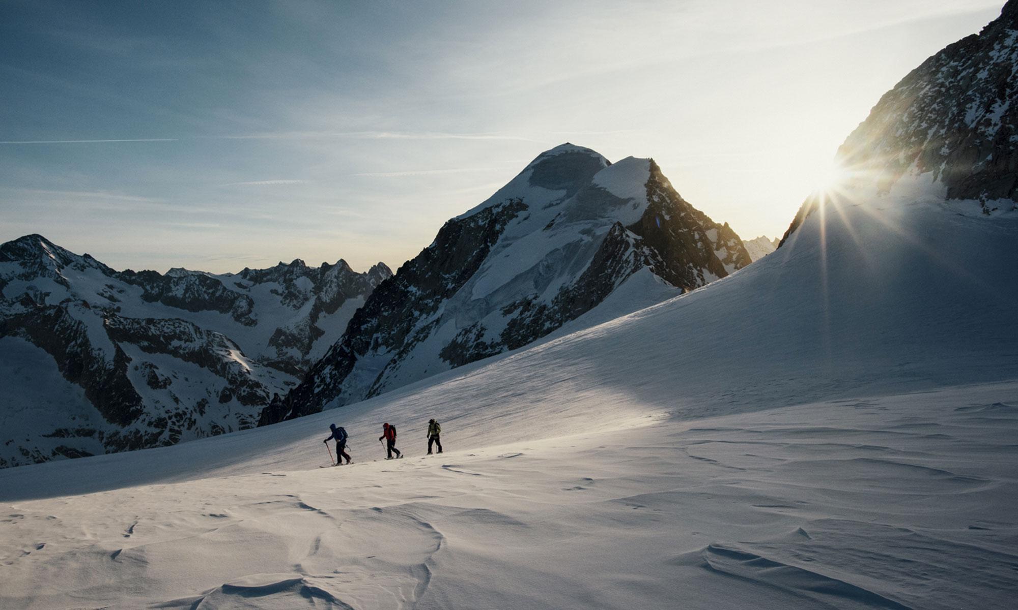 ski de randonné dans le Valais