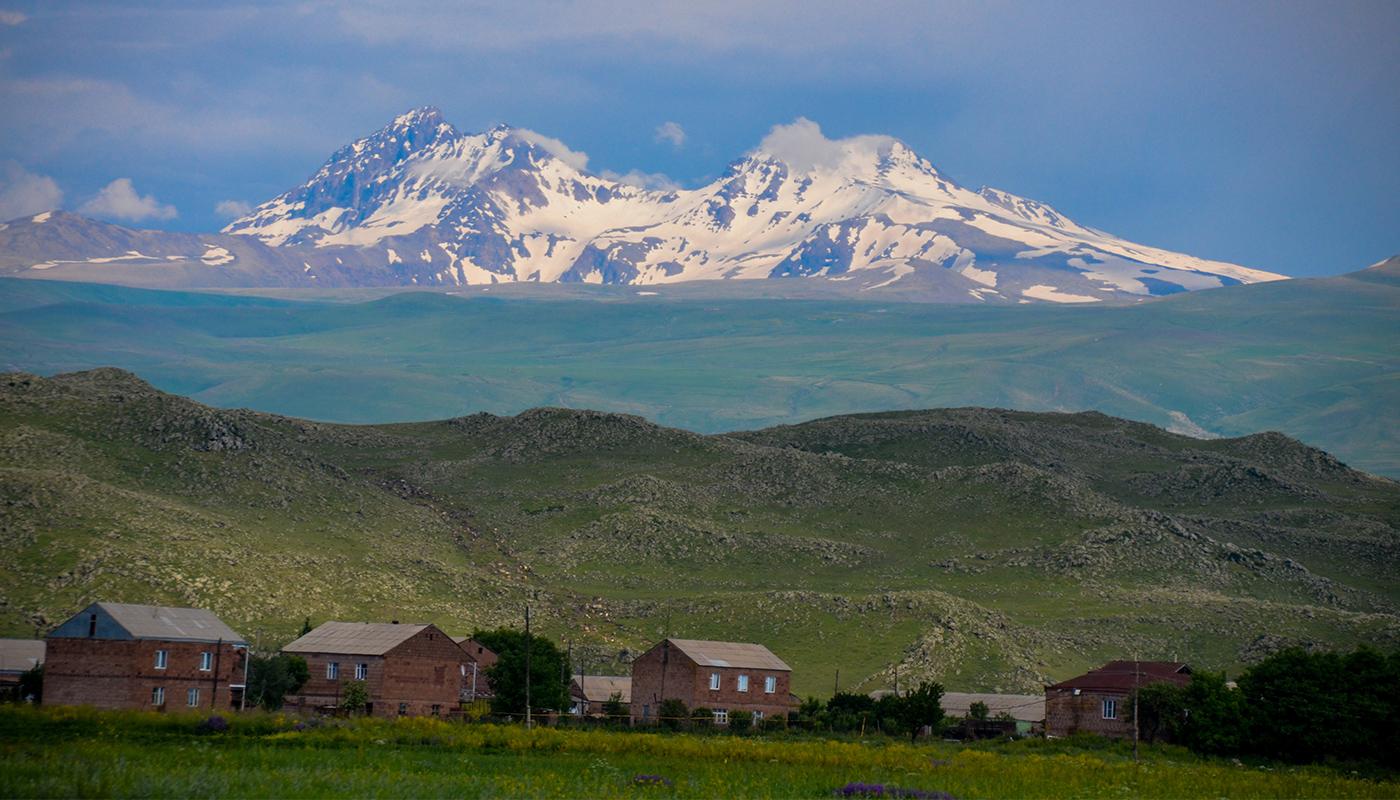 La chaîne de l'Aragats