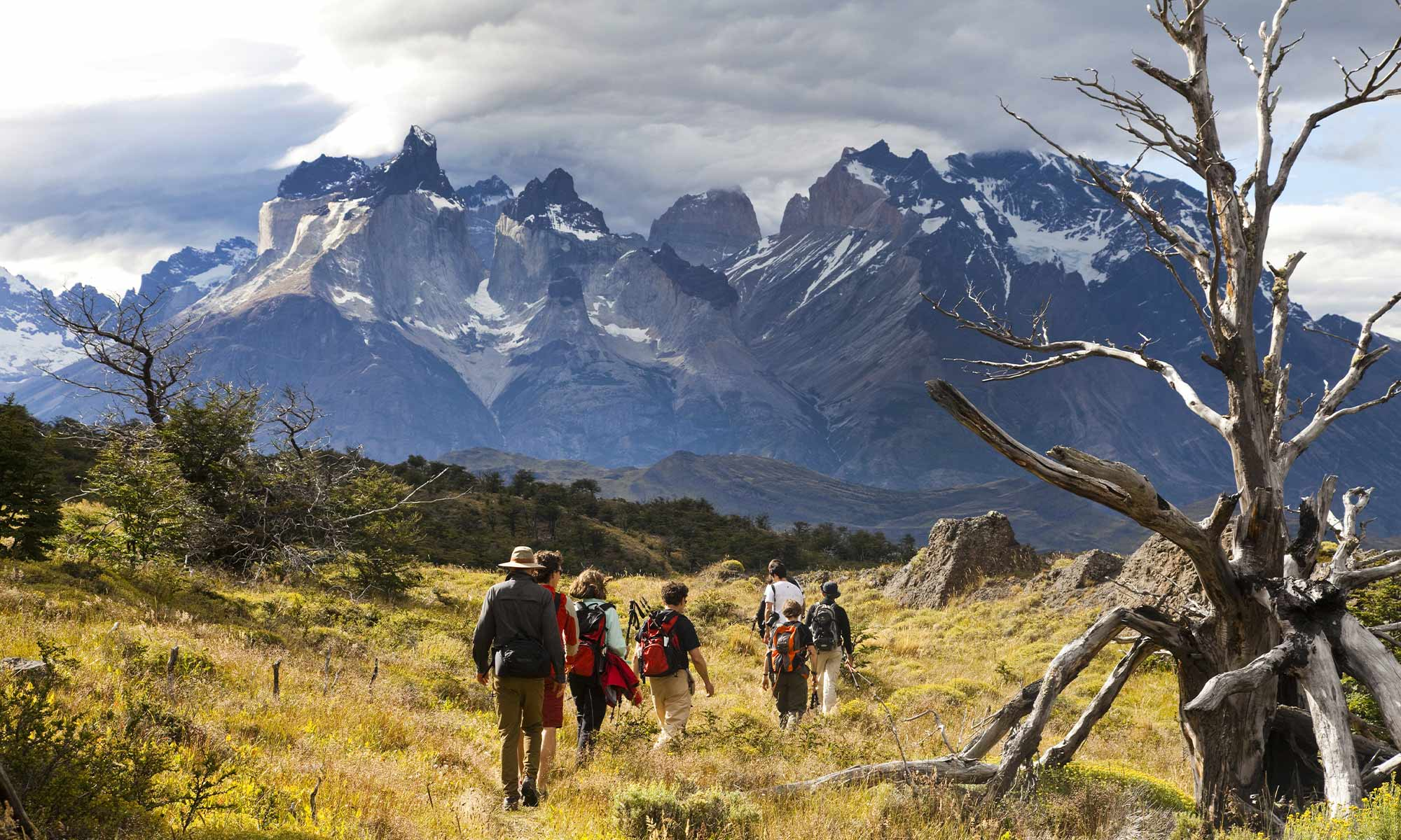 randonnée dans le parc national Torres del Païne