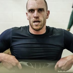 Remi Reverchon, champion de France d'aviron indoor