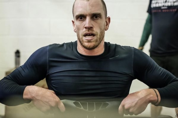 Remi Reverchon, champion de France d'aviron indoor