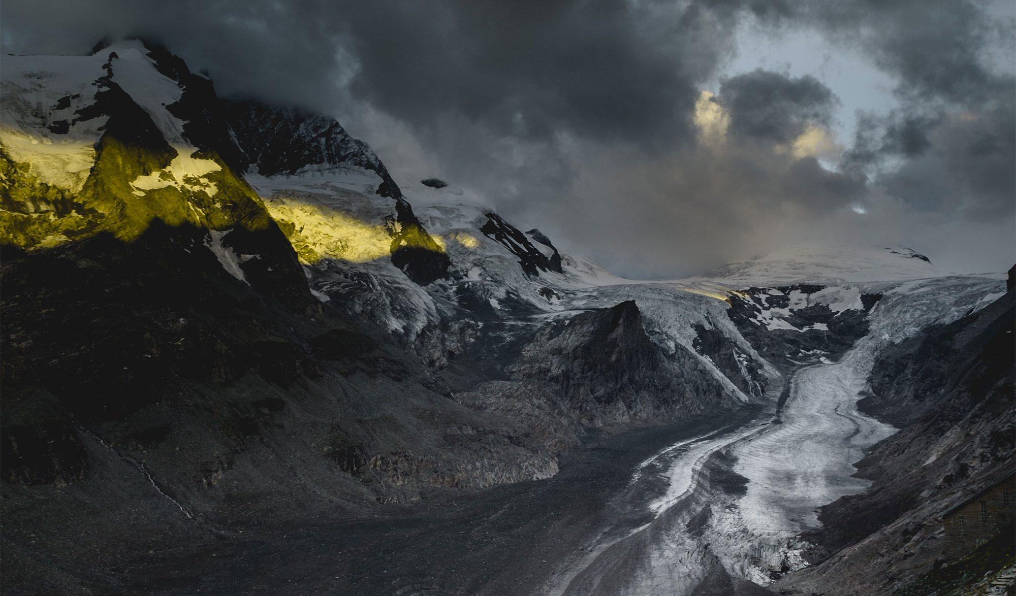 Glacier en fonte