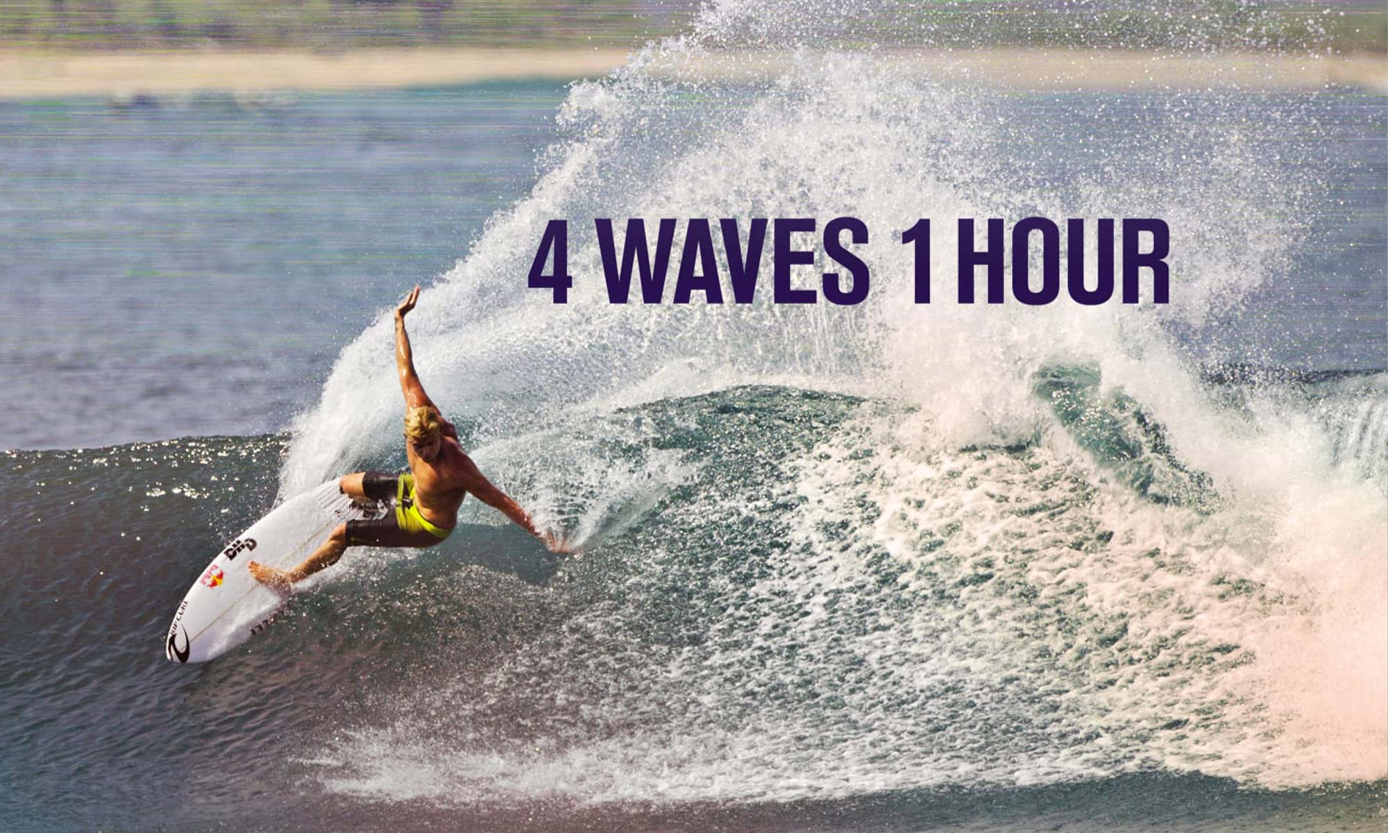 4 waves 1 hour