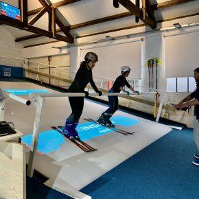 Echauffement du cours de ski-fit (Pierre Le Clainche)