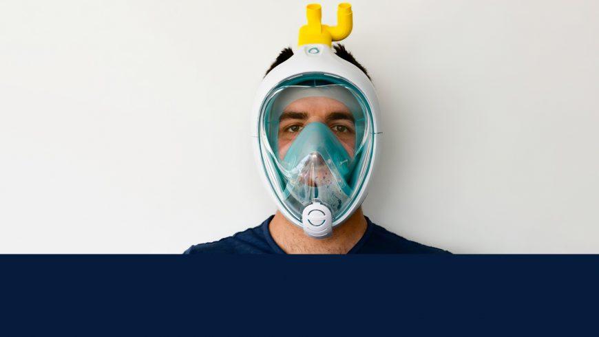 Coronavirus: la seconde vie du manque Easybreath de Décathlon