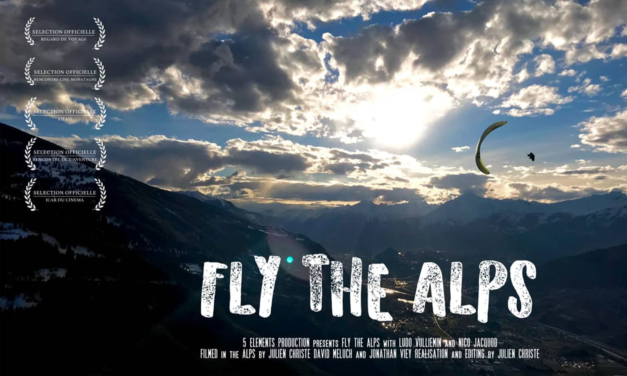 Fly the Alps
