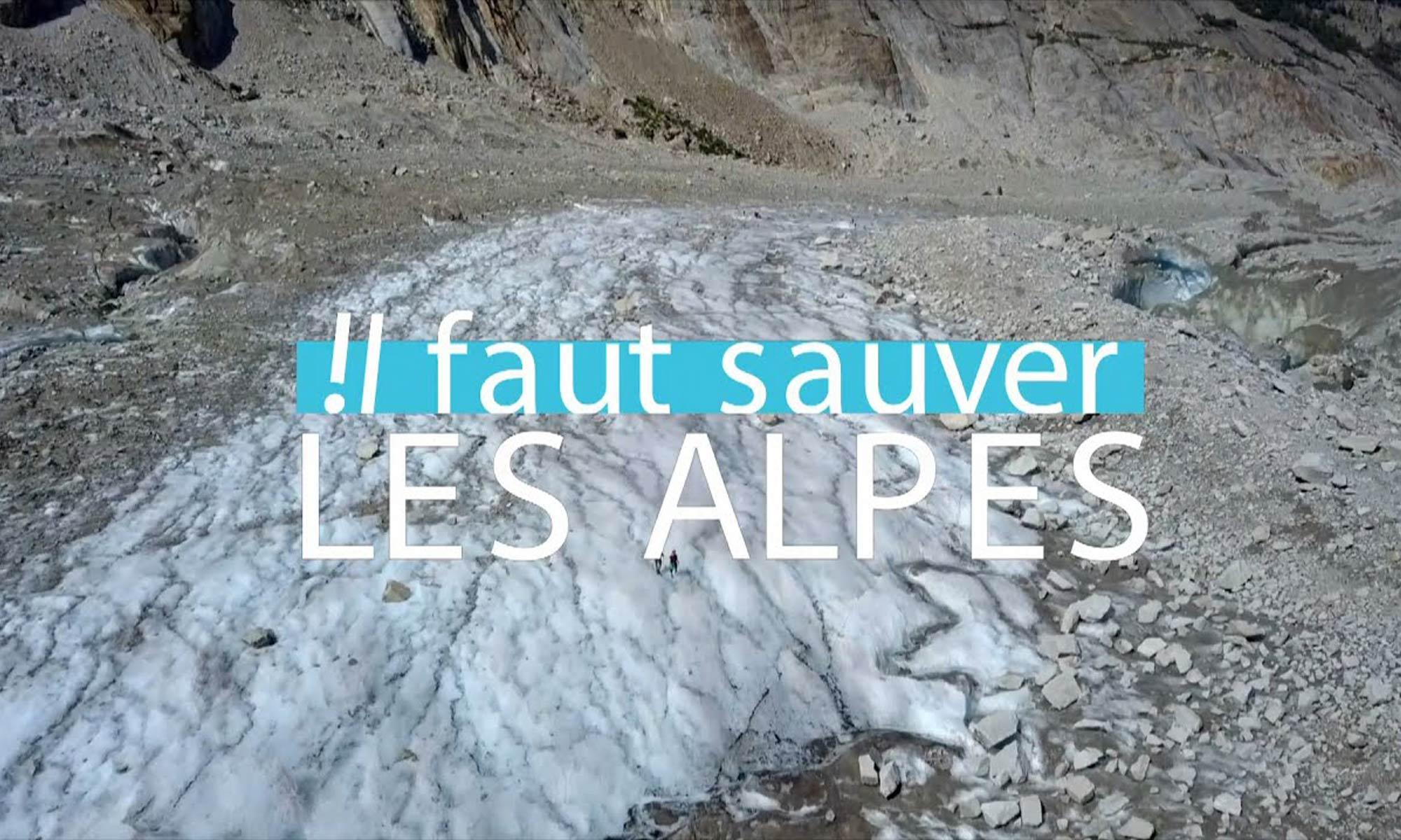 Il faut sauver les alpes