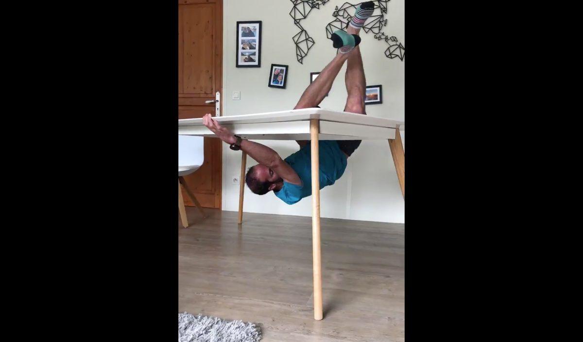 Michel Lanne, défi de la table