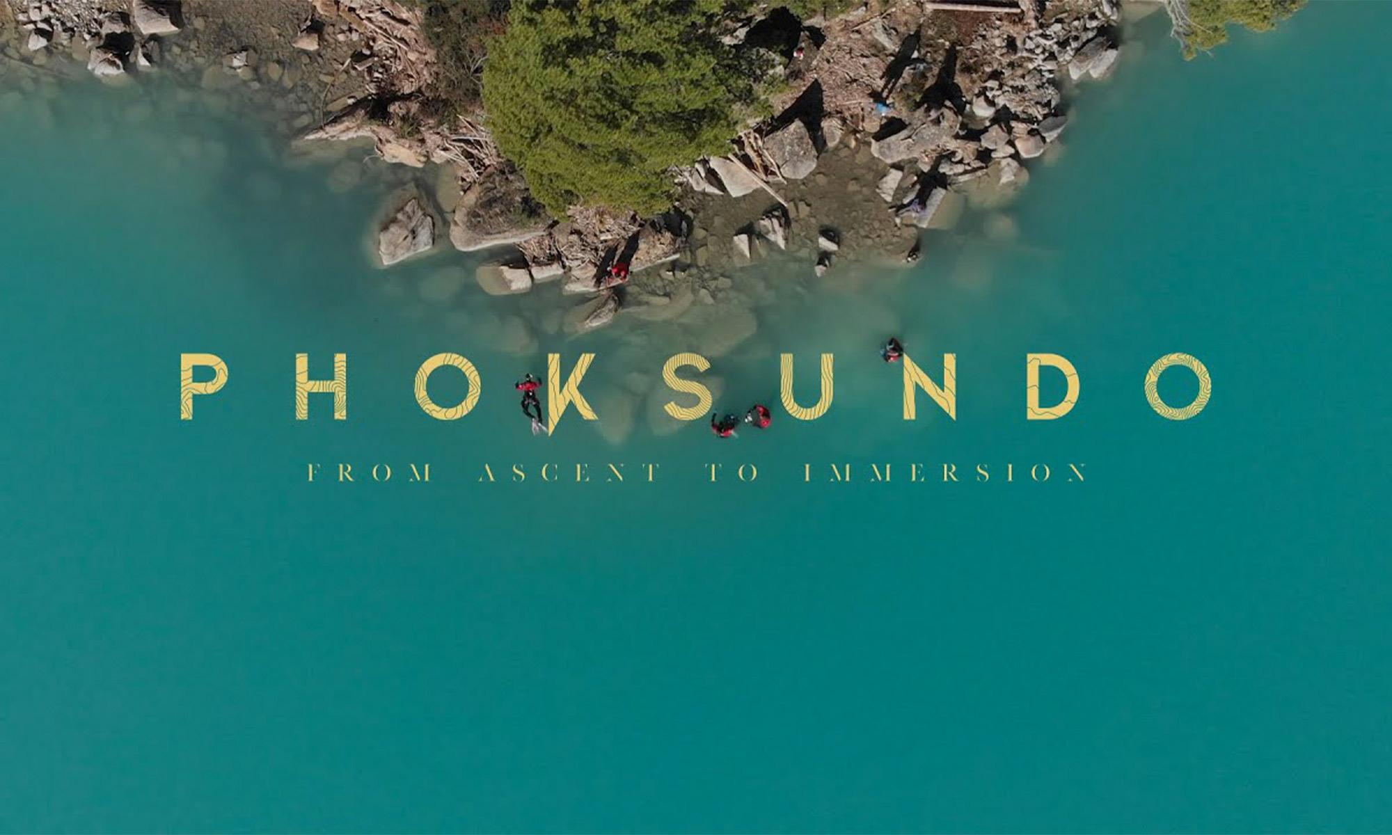Phoksundo de l'ascension à l'immersion