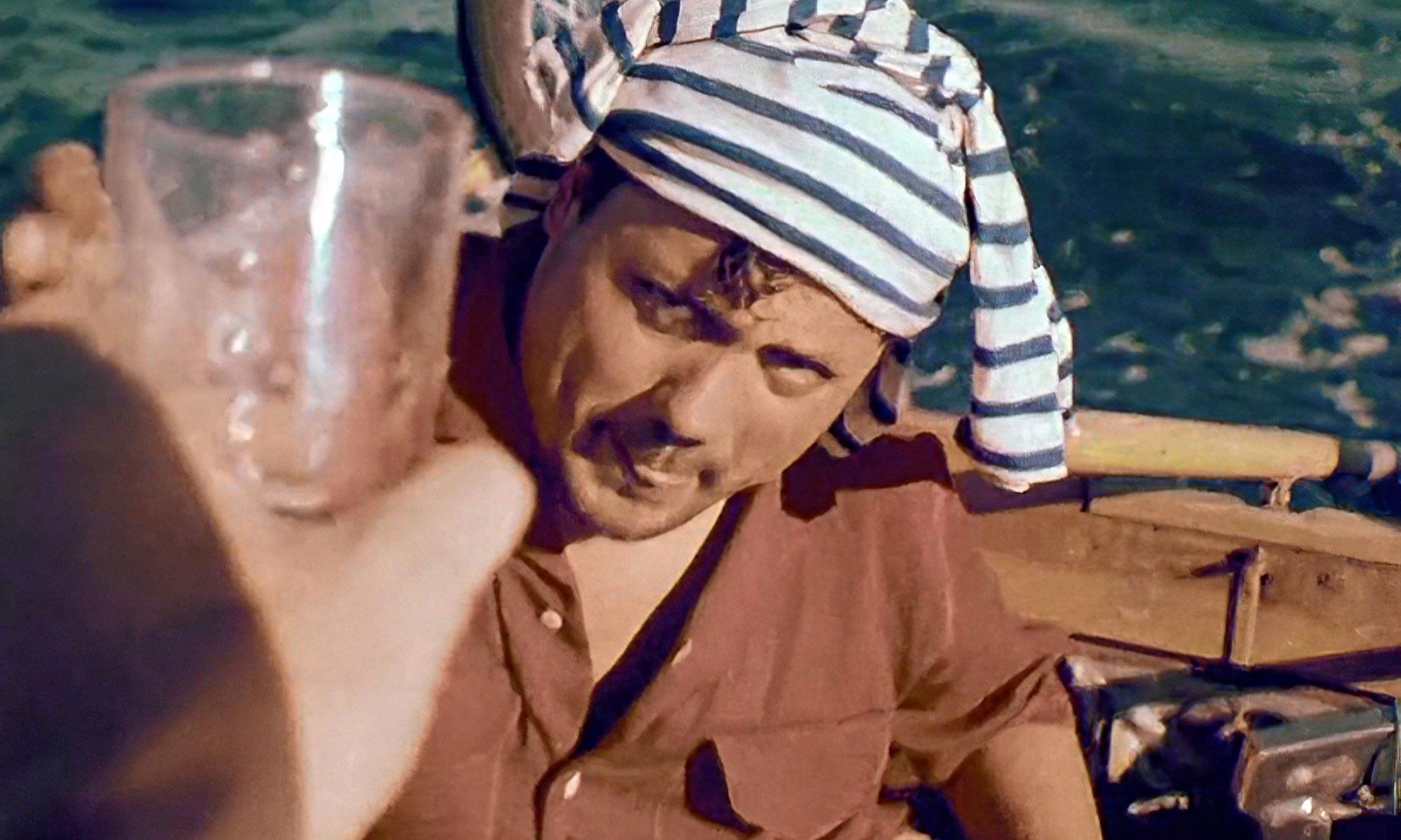 Alain Bombard, le naufragé volontaire