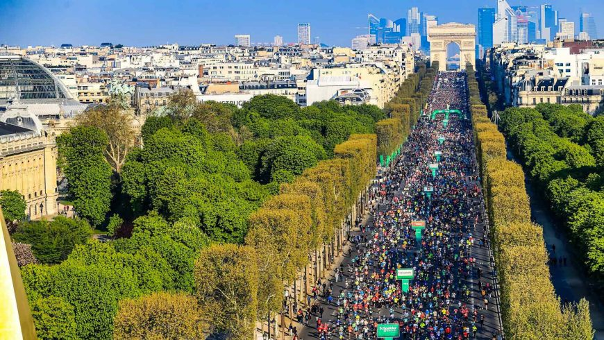 Le Marathon de Paris est reporté.