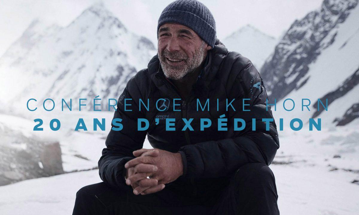 Conférence Mike Horn : 20 ans d'expédition