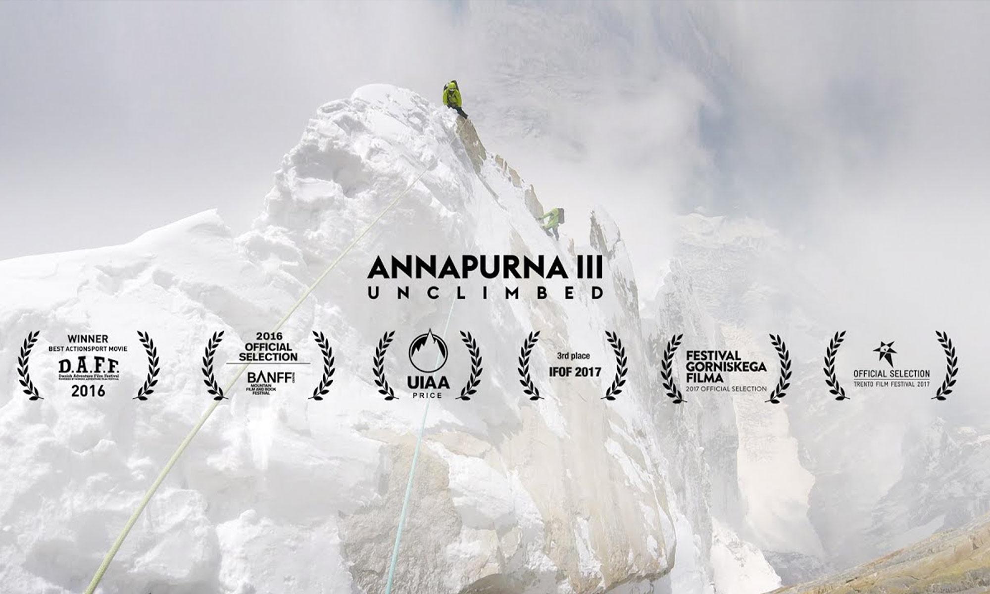 Annapurna III - Unclimbed