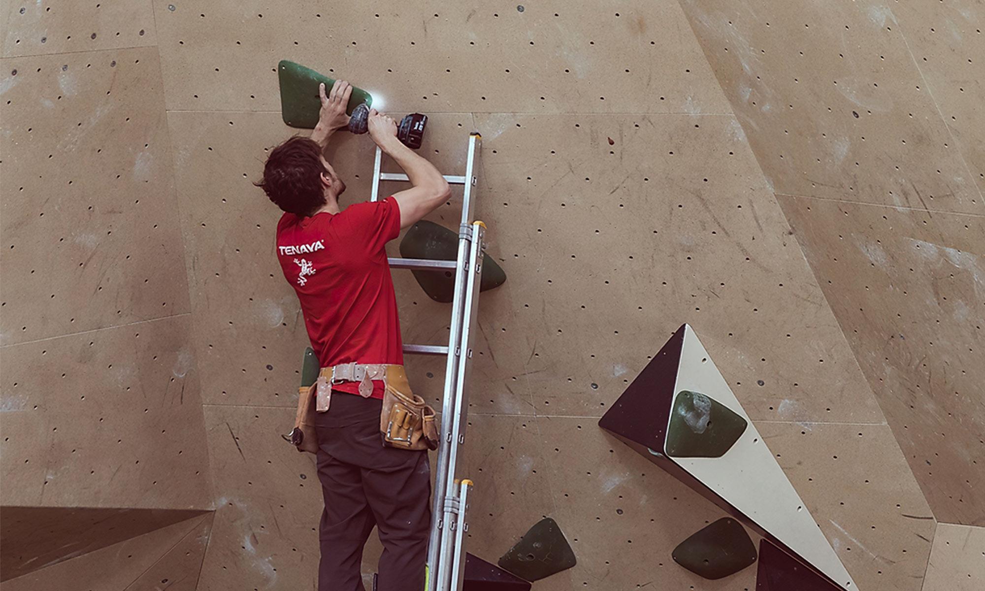 Comment construire son mur d'escalade chez soi ?