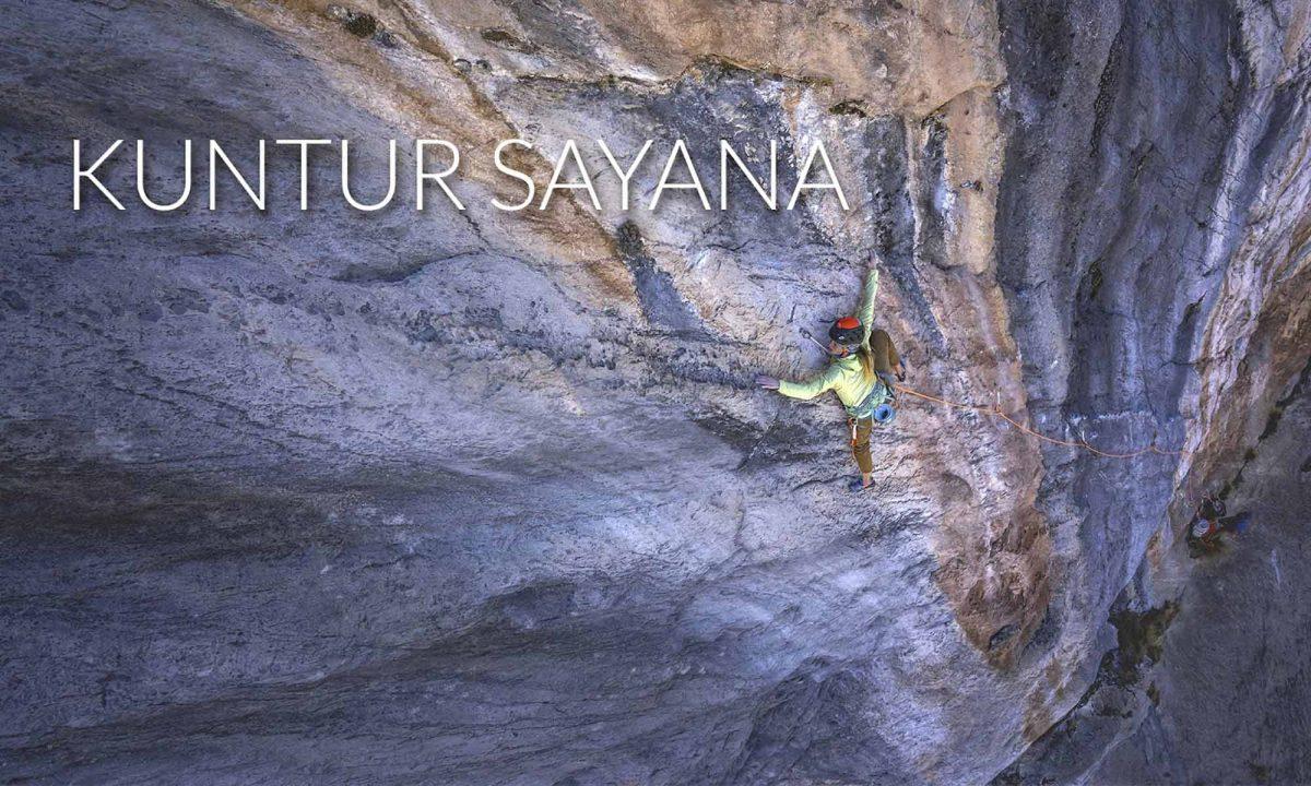 Kuntur Sayana - Bolting and climbing a perfect line in Peru
