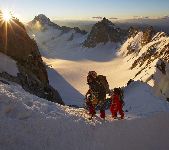 règles de reprise escalade, alpinisme, surf et natation,