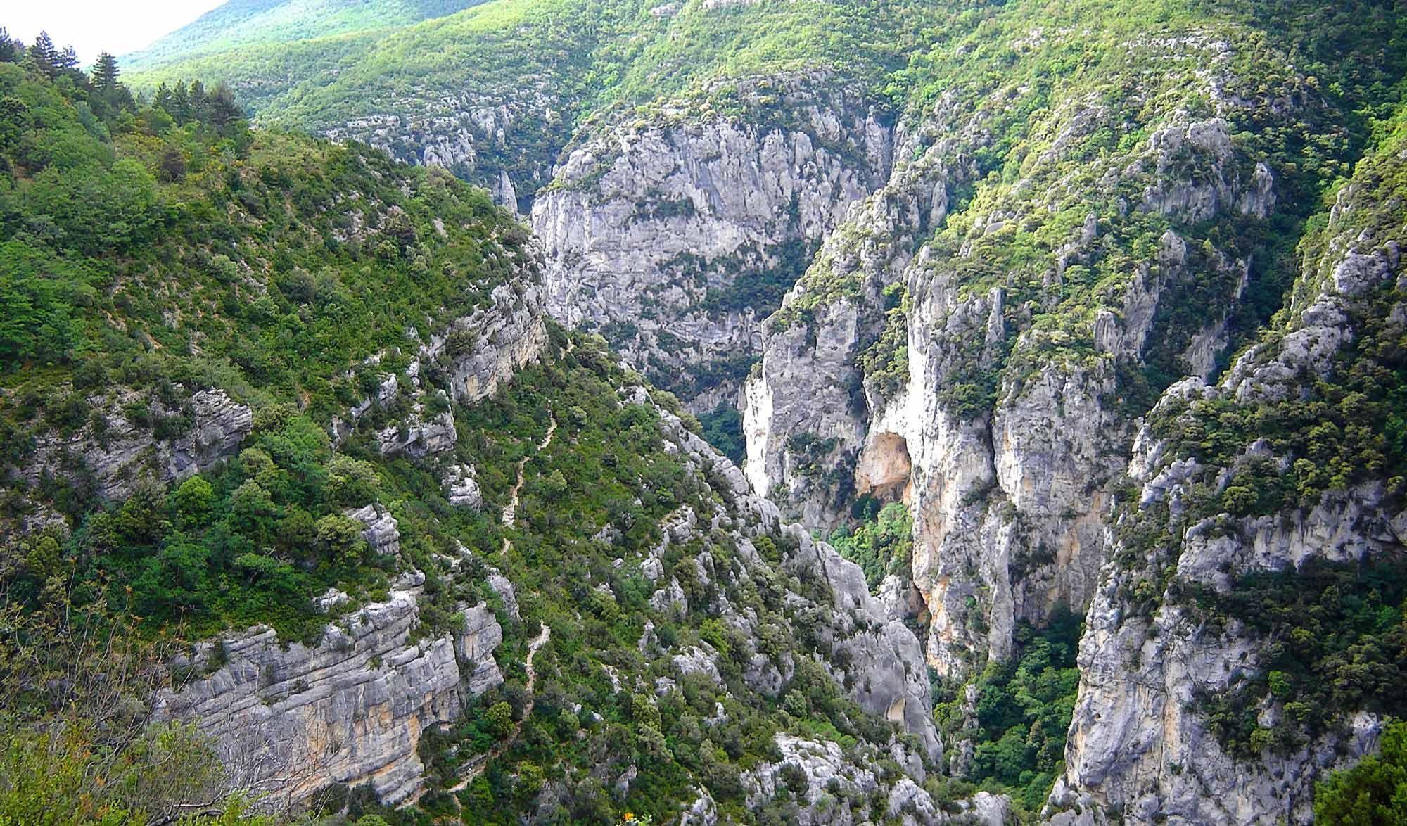 Grand Canyon du Verdon - Sentier du Bastidon